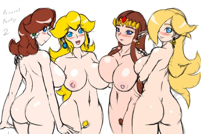 zelda porn hentai princess crossover peach daf zelda legend eba mario super bros daisy rosalina galaxy speeds