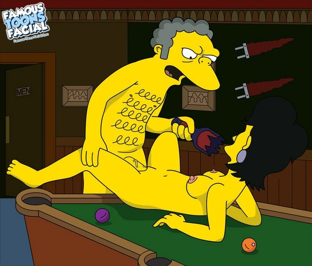 famous toons gallery simpsons sexy from fucking milf moe