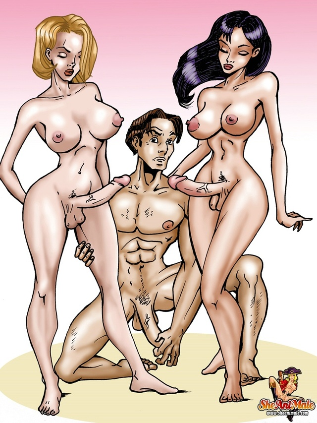 fuck this toons free fuck toons video threesome futanari futanaria