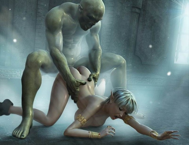 fucked toons pics hot blonde fucked monster being