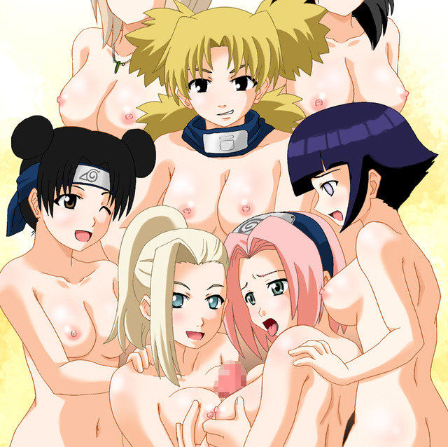 green toon hentai hentai page naruto toon orgy sakura haruno group now temari green hair breasts eyes penis censored pink haresaku jumpara kazami haruki