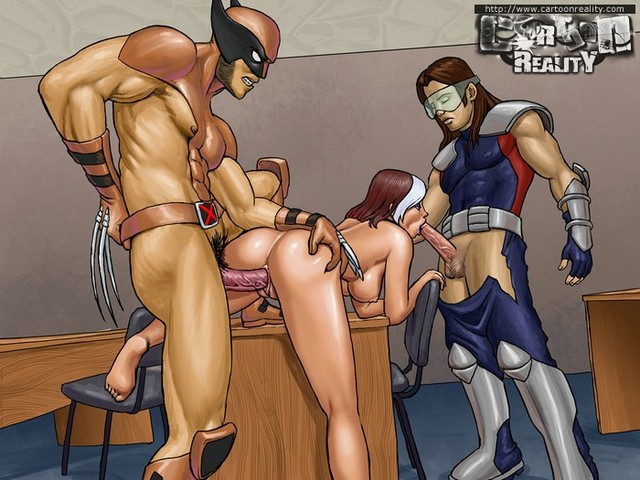 hard toons porn pic galleries xmen hotties cartoonreality banged mutan