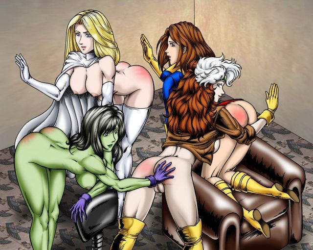 hentai cartoons gallery hentai gallery album girls marvel med