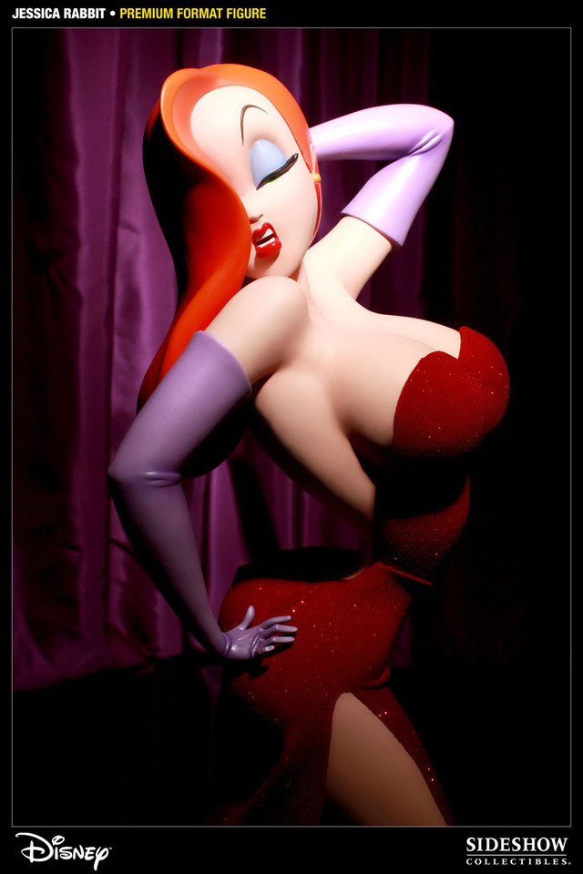 jessica rabbit xxx pictures jessica rabbit press brings statues hubba