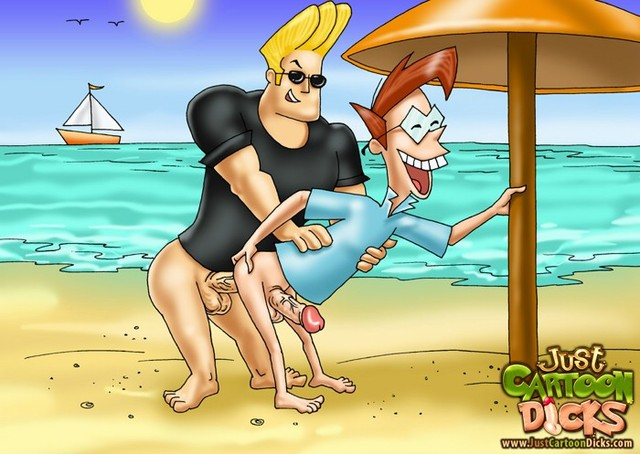 nasty toon porn cartoon johnny bravo dicks cums gals