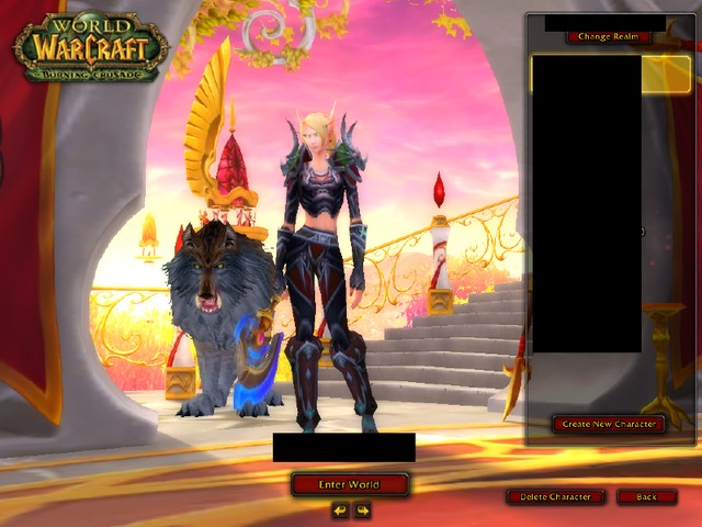 nice sexy toons blue only female blood elf wow usa hunter trading accounts epic booooomut wts
