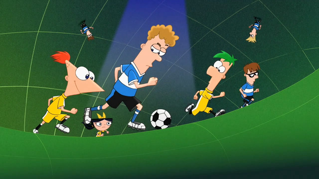 phineas and ferb sex toons fair playing soccer phineasandferb goalie