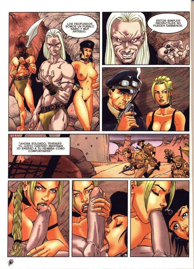 порно комиксы лара джонс