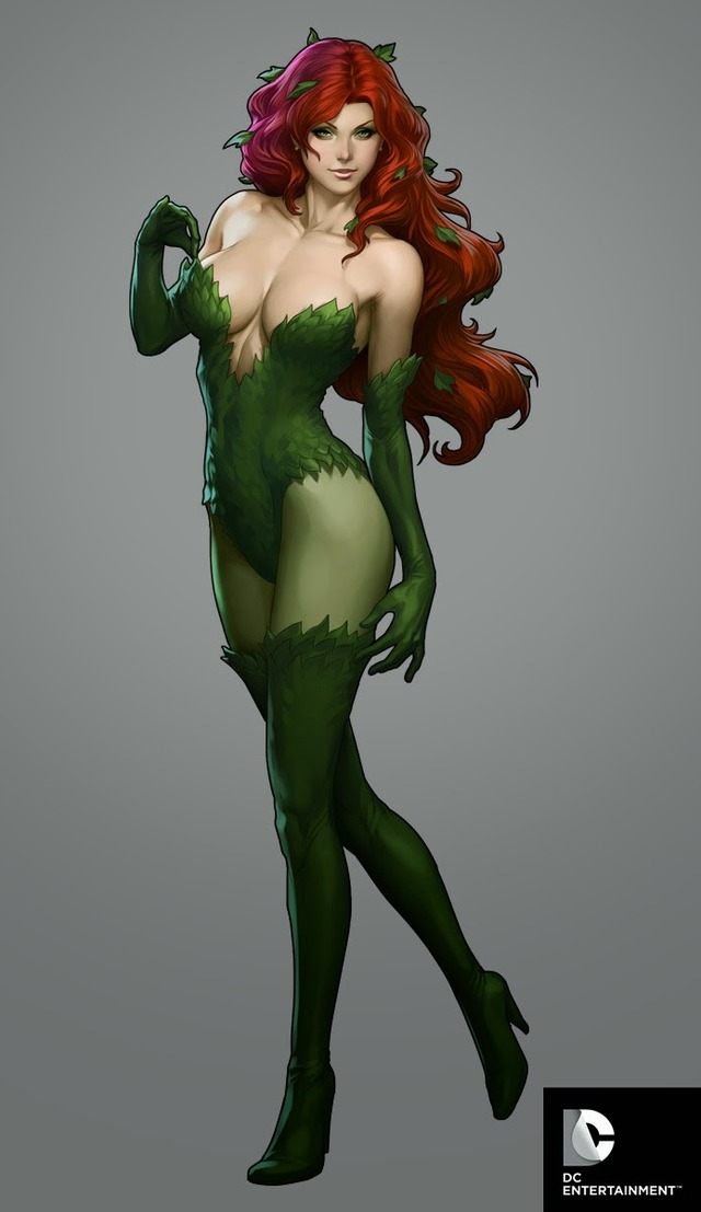 poison ivy porn comic cover girls ivy poison lau stanley artgerm