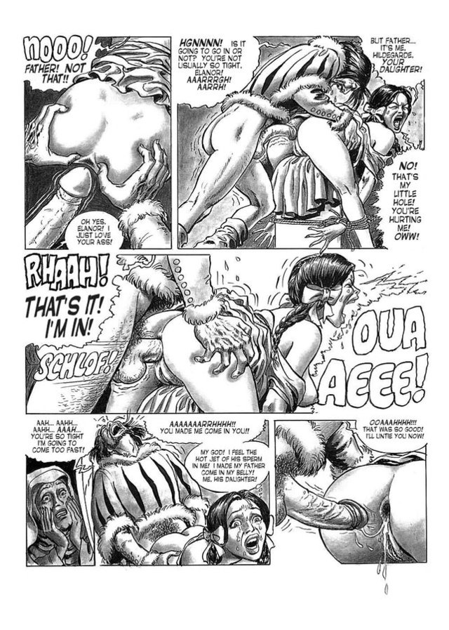 porn cartoon strips porn comics part chapter bdsm hanz kovacq hilda