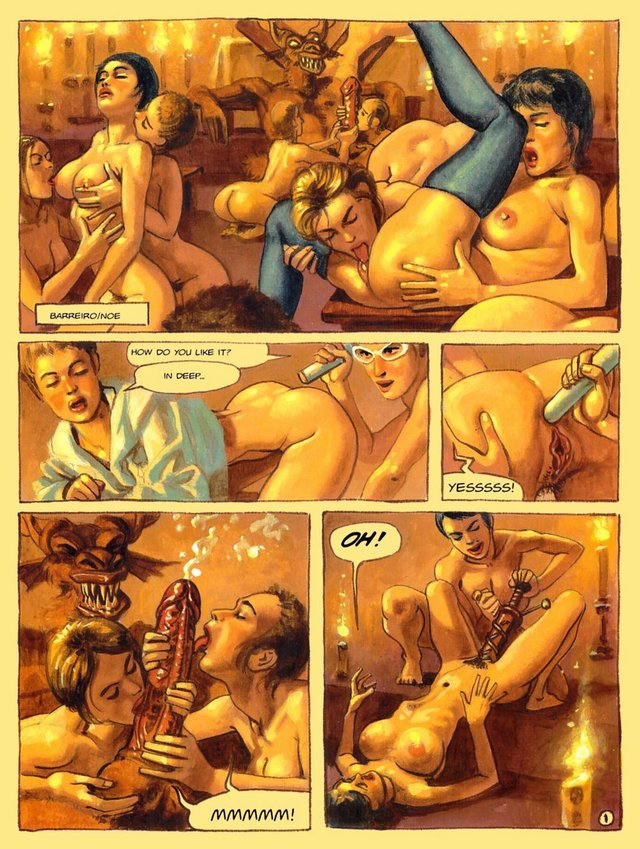 porn cartoon strips porn comics slut cock sucking knees