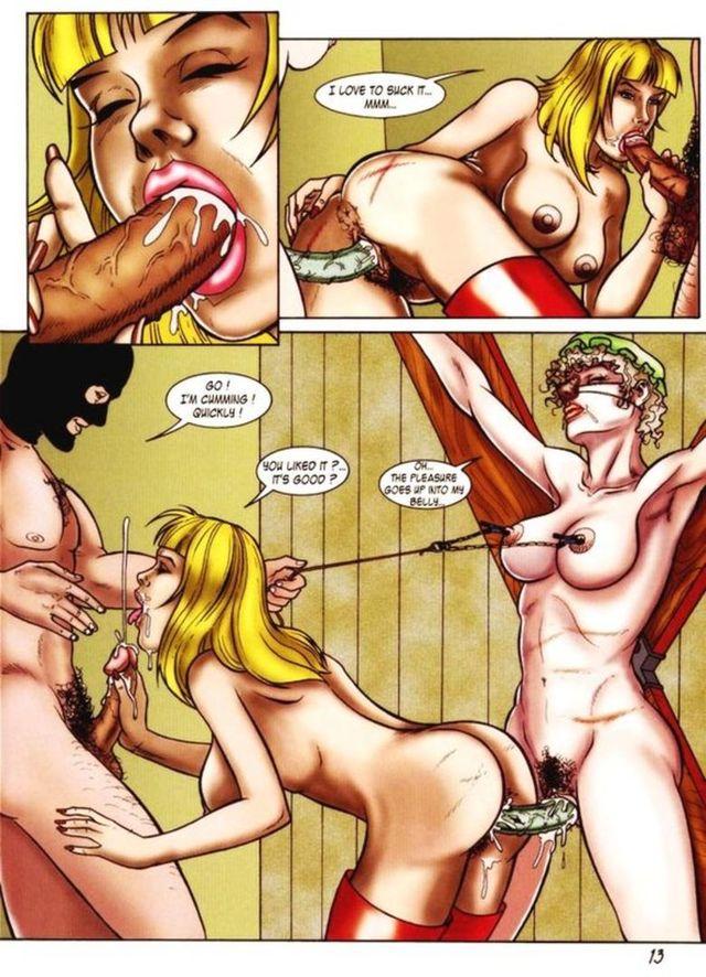 Неформат порно комиксы