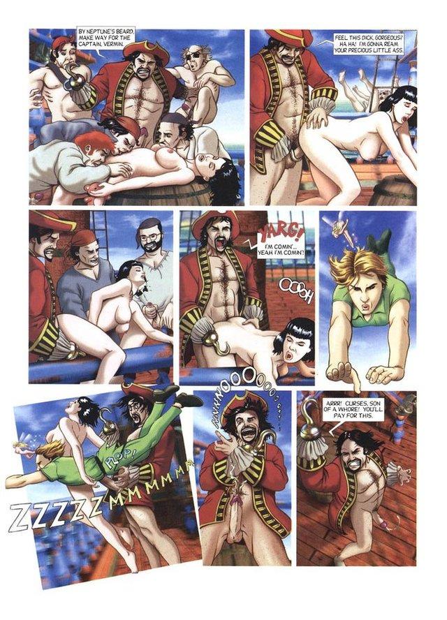 питер пен секс комиксы
