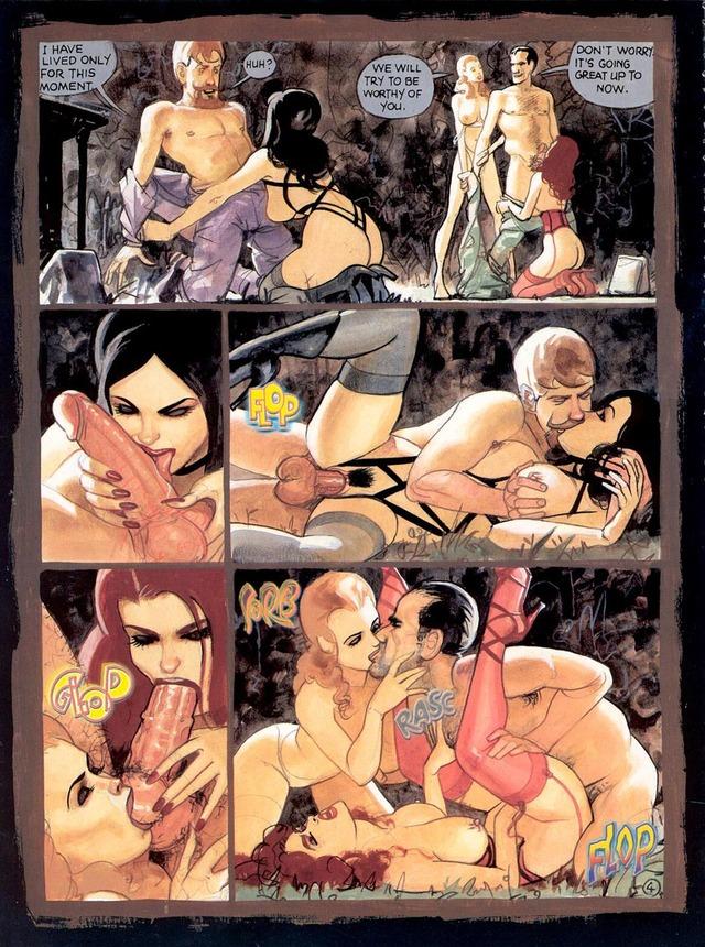 Порно комиксы другой мир 50454 фотография