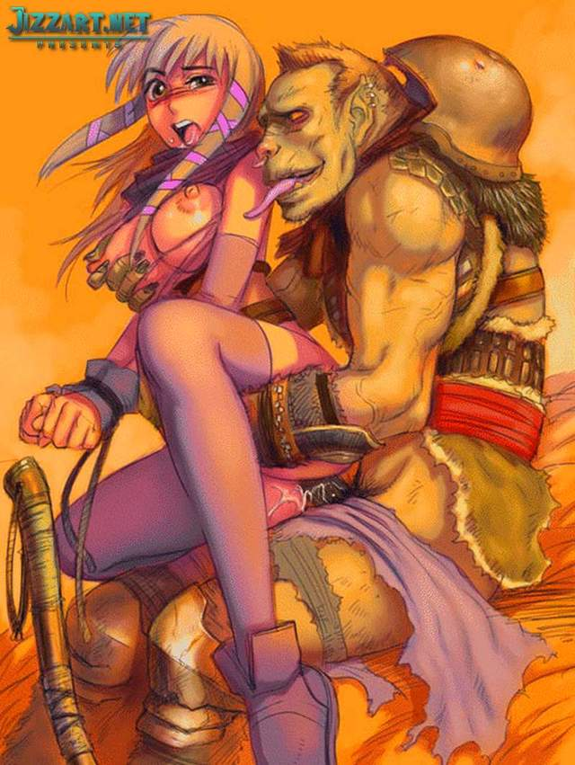 porn drawings galleries art world warcraft orc warlocks