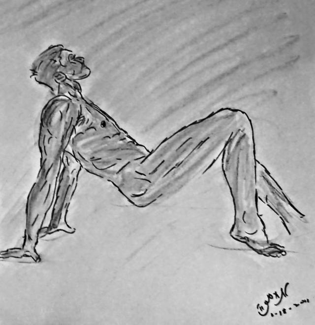 porn drawings galleries large naked dance nude erotic man featured male zimmerman classic lyrical drawing modern figure medium dancing charcoal