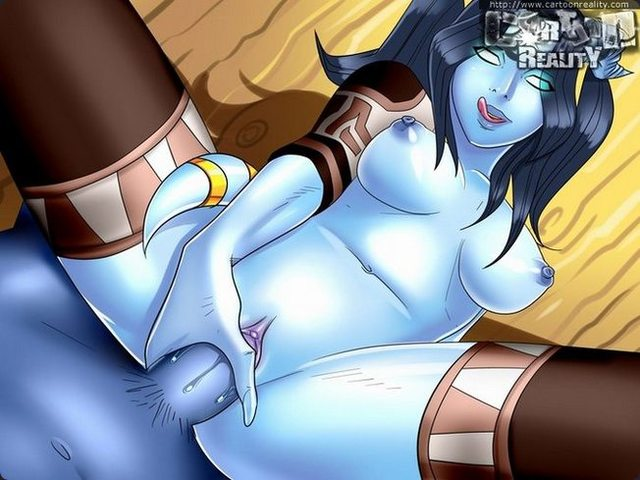 porn gallery toon best toon toons part from nude world artists warcraft