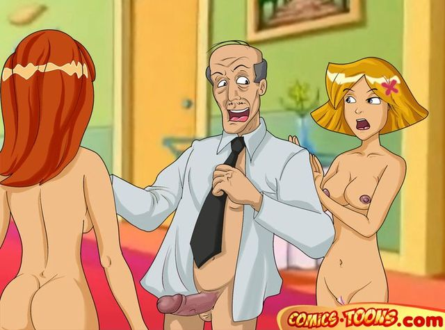 pron cartoon xxx drawings rated website totally spies