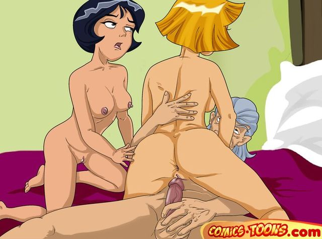 pron sex cartoon gallery drawings rated totally spies