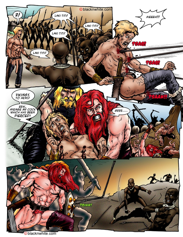 red toon porn pic toon galleries long red blacknwhite viking