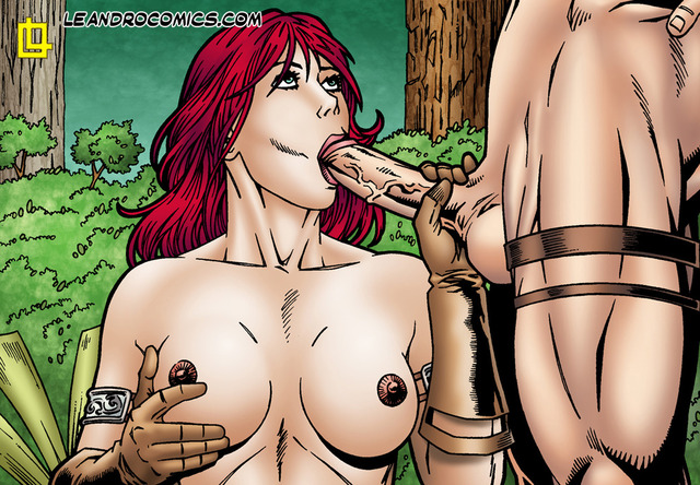 Red sonja cartoon porn