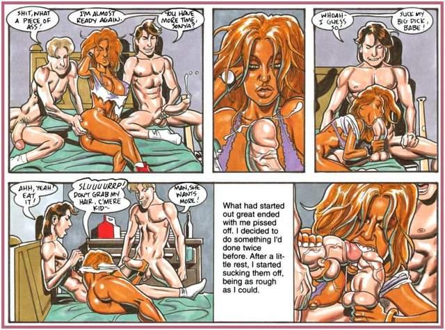 Онлайн бдсм комикс