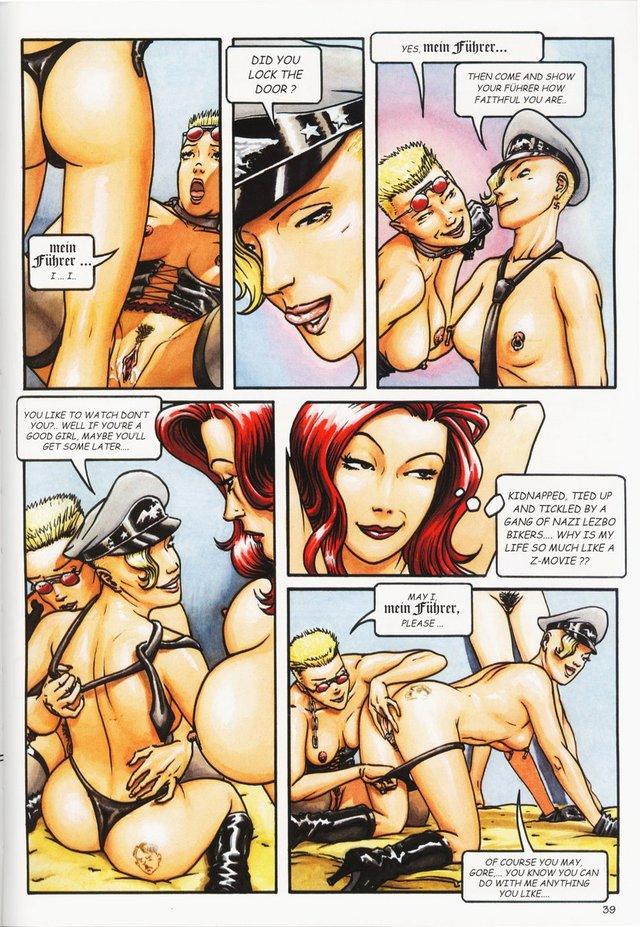 Секс комиксы кино
