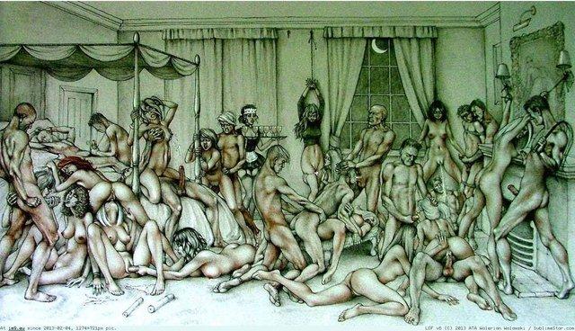 Рисунки групповуха