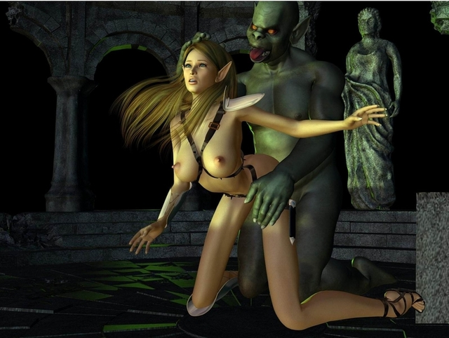 sexy girl toons porn sexy pics cartoons monster female elf ogre trapped