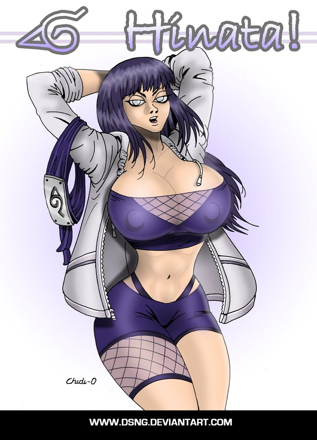 Big boob anime ninja girl