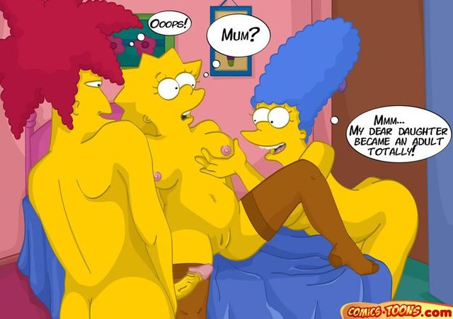 sexy toon fucking hentai simpsons stories futurama nude