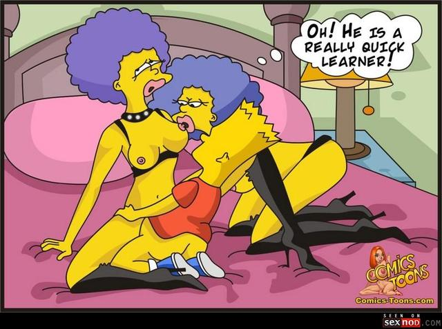 sexy toons pictures simpsons sexy comics cartoon toons wmimg