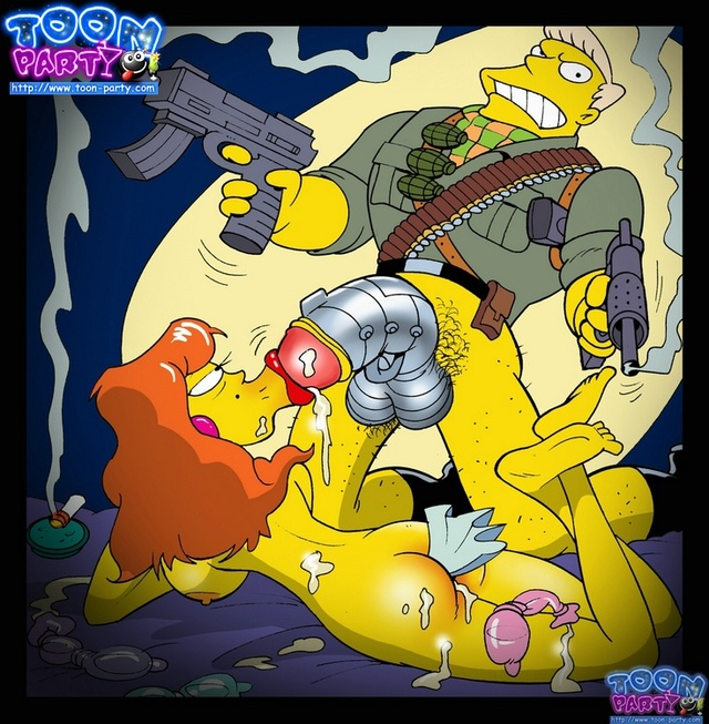 simpsons adult toons simpsons ccd simpson toon party eff rainier wolfcastle