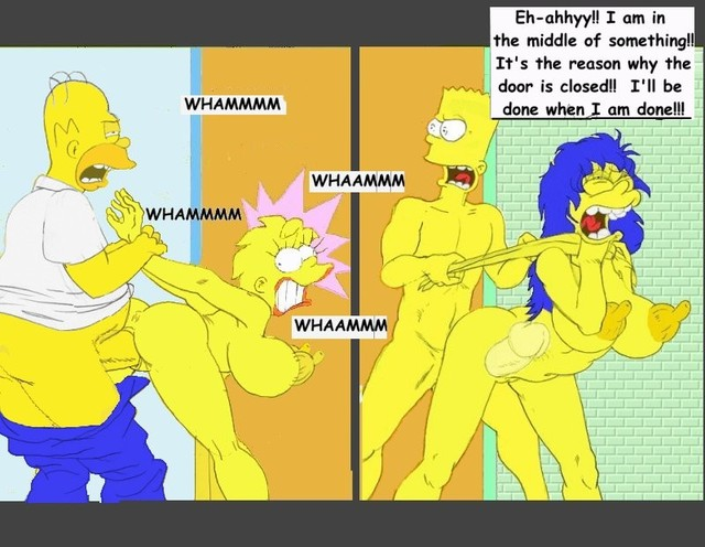 simpsons adult toons hentai porn simpsons comics story never ending