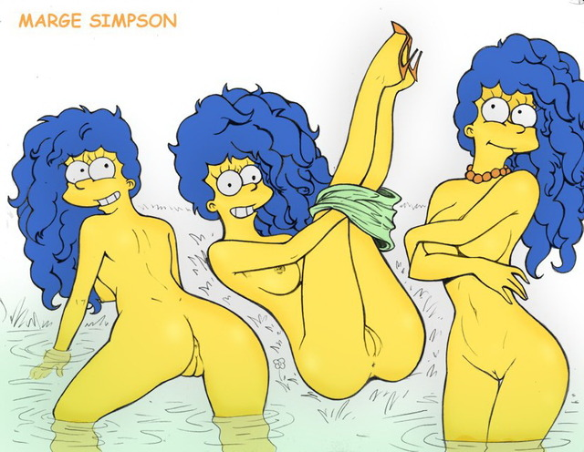 simpsons animated porn cartoon marge girls simp