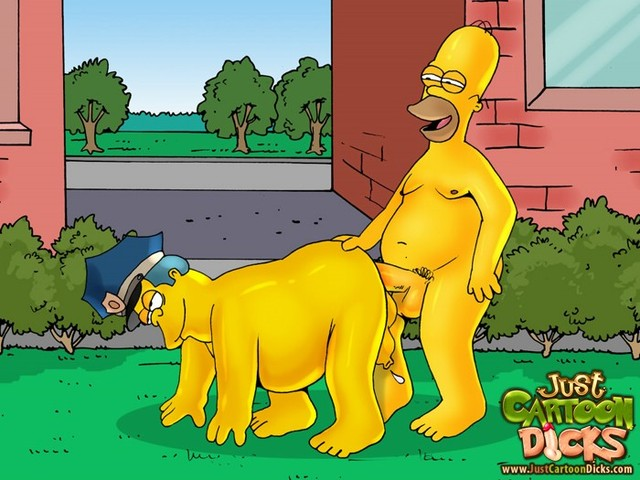 simpsons cartoon sex pictures simpsons gay cartoon simpson homer his lovers uniformed