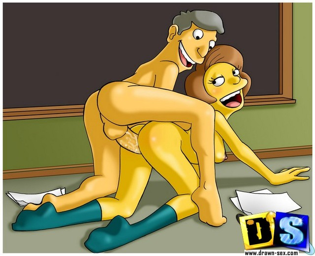 simpsons cartoon sex pictures simpsons drawn hard catalog