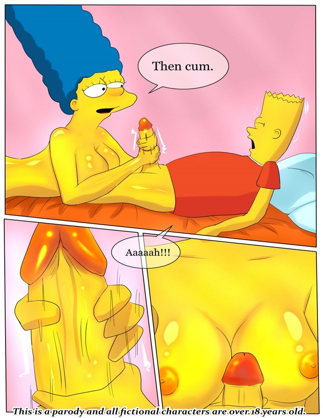 simpsons toon porn pictures simpsons mom helping swn