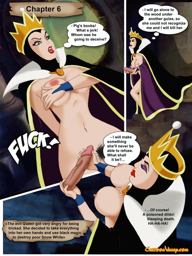 Free Disney porn  Nude Snow White and horny Seven Dwarfs