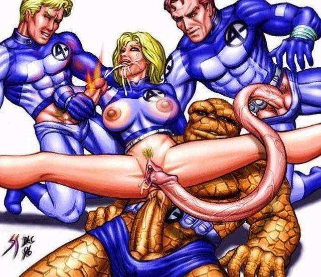 порно фото супергероев игр