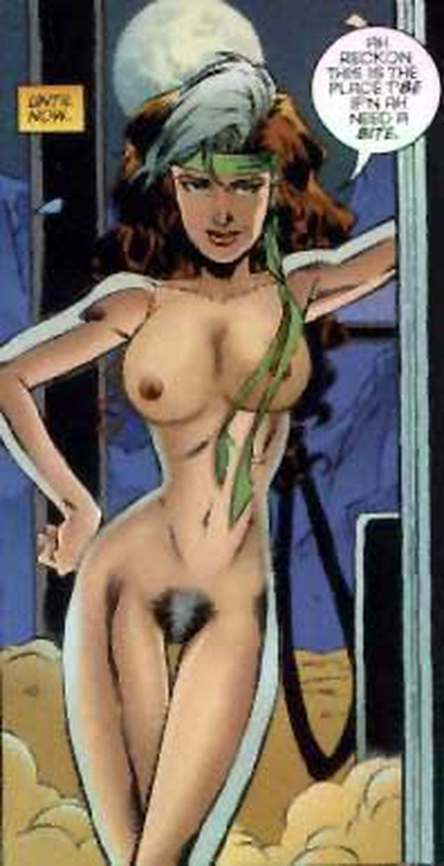 X men rogue naked adult pic