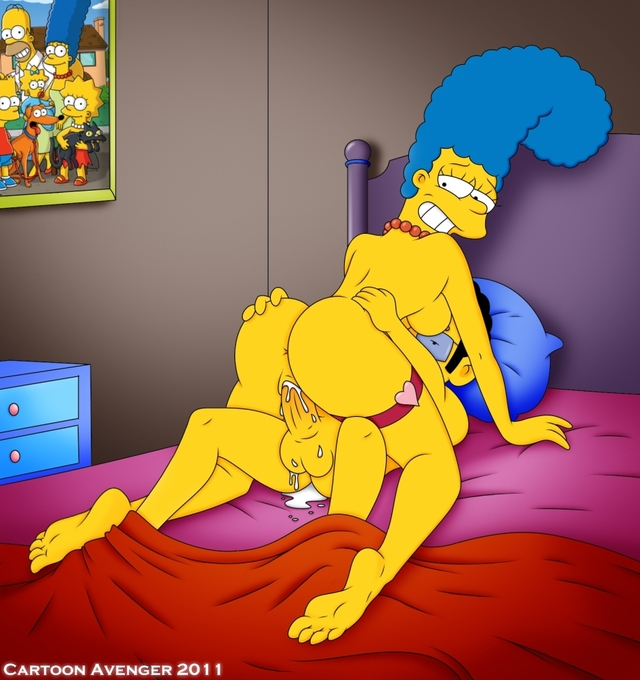 the simpson cartoon porn pictures porn cartoon marge simpson hot