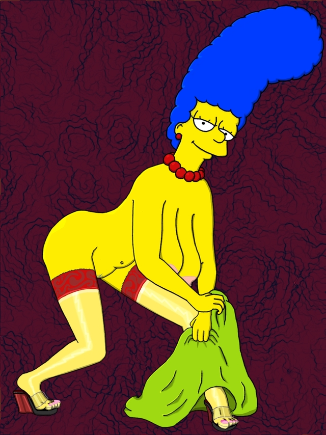 the simpson porn galleries simpsons gallery marge simpson nude couch bfca waspcock