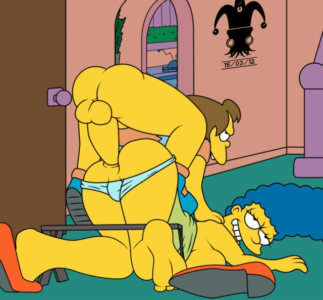 the simpsons toon sex simpsons marge