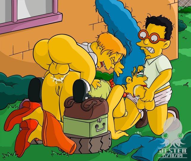 картинки симпсоны хентай