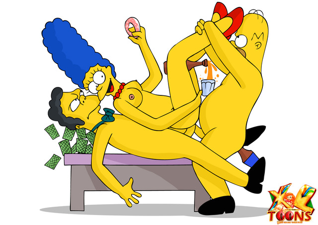toons getting fucked marge gets hot threesome talked