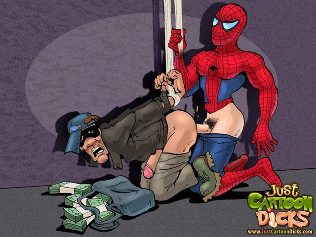 toons getting fucked gay real toons gets fucked spiderman loving