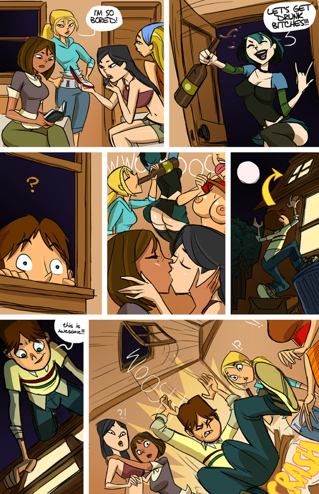 total drama porn galleries porn media comic are orgy original total times commission finished island drama