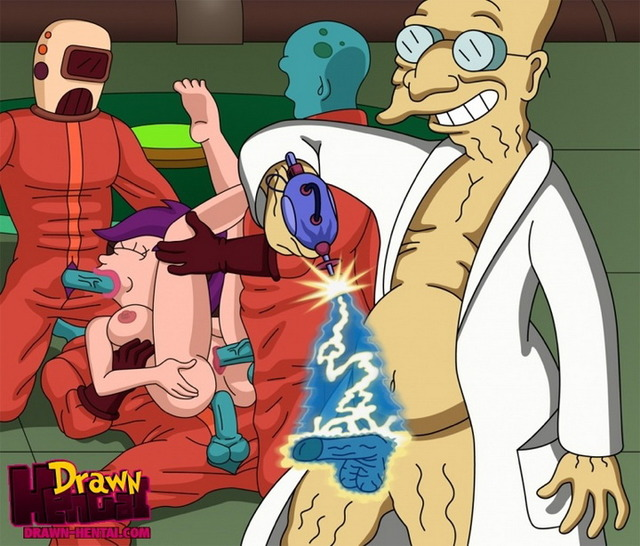 watch sex toons page futurama drawnhentai