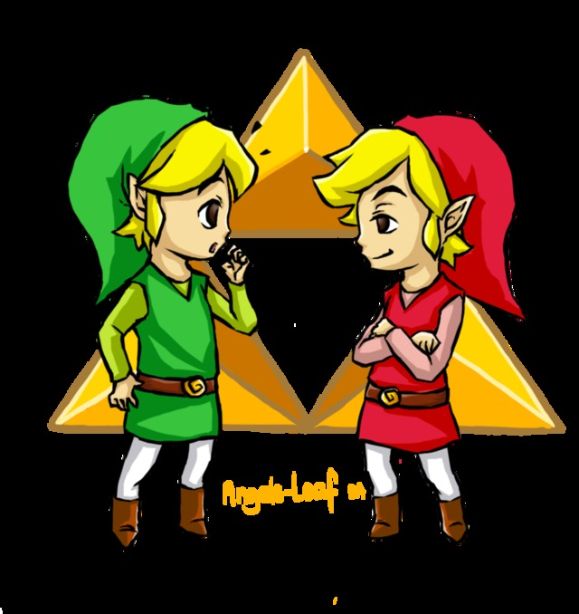 xx toon art toon link zelda legend angels leaf identical lzh